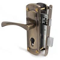 Замок врезной Апекс для металлических дверей 1423 AB  (б/секр/отв. )