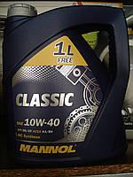 Полусинтетическое моторное масло Mannol Classic 10w40 (4 литра)
