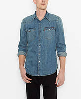 Джинсовая рубашка Levis Barstow Western -  Stonewash Denim