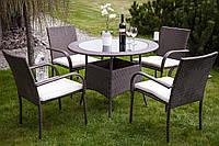 Меблі для саду. Обідній комплект