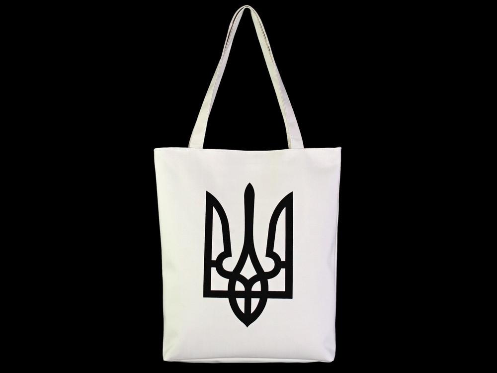 Сувенирная сумка Трезуб Чёрный