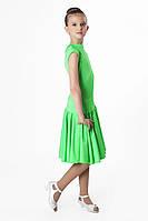 Платье рейтинговое (бейсик) PR762507 Алиса салатовый