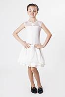 Платье рейтинговое (бейсик) PR763521 Миледи белый
