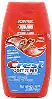 Зубная паста - гель отбеливающая Crest Complete Whitening Plus Expressions Cinnamon Rush Liquid Gel. 130 гр.