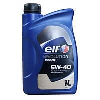 Моторное масло ELF 5W40 EVOLUTION 900 NF ( ACEA A3/B4 , API SL/CF, VW 502.00/505.00, MB 229.3) 1L синтетика