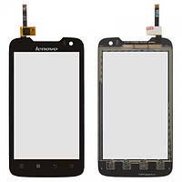 Сенсор (тачскрин) стекло для смартфона Lenovo A789 black