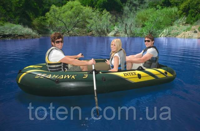 длина лодки для 3 человек