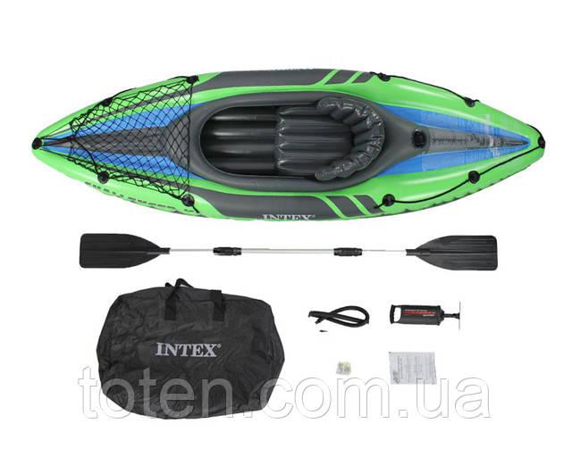 intex challenger 2218*142*43 надувная лодка:
