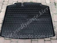 Коврик в багажник SKODA Rapid спейсбэк пластик+резина(Автогум AVTO-GUMM)