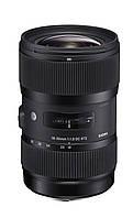Объектив Sigma 18-35mm f/1.8 DC HSM ART для Сanon