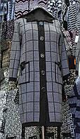 """Пальто женское трикотаж """"Розалия (1)"""""""
