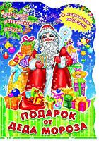 Подарок от Деда Мороза Раскраски Развивайка Ребусы+игрушка-сюрприз