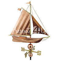 Морской сувенир флюгер Корабль