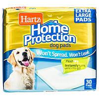 Hartz Home Protection dog extra large одноразовые пеленки для собак крупных пород - 53x75 см