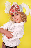 Детская кепка для девочки Дембохаус Размер 48