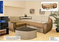 Угловой диван Меркурий со столиком (Мебель-Сервис)