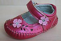 Детские пинетки для девочки, обувь для новорожденных р.13