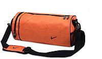 Сумка для спортзала Nike оранжевая