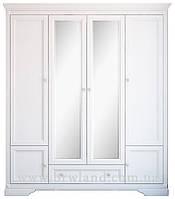 Шафа 4х дверний Клео / Kleo Гербор / Шкаф 4х дверной Клео