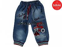 Джинсовые брюки на мальчика 1,2,3,4 года