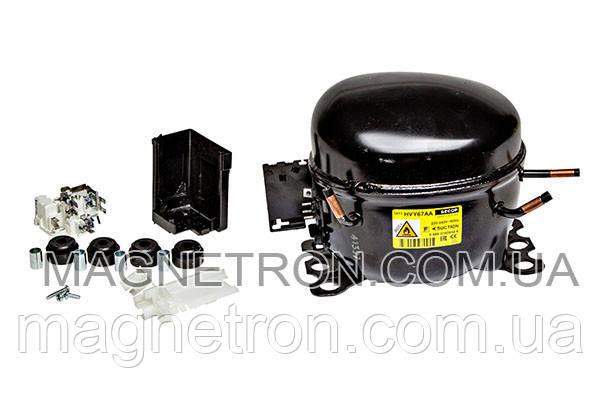 Универсальный компрессор для холодильника SECOP HVY67AA R600a 107W, фото 2