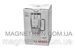 Чаша блендера 750мл в сборе для кухонного комбайна MUZ4MX3 Bosch 461509, фото 3