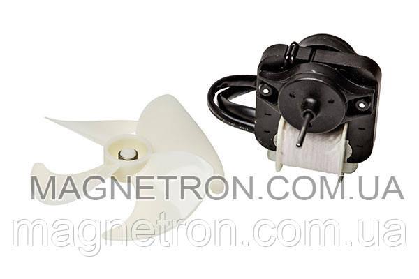 Мотор вентилятора и крыльчатка для холодильника Indesit C00283664, фото 2