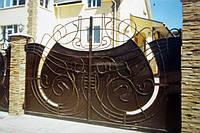 Ворота кованые распашные (MD-VKR-007)