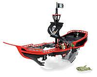 Большой пиратский корабль - аквариум Lil Fishy с интерактивной рыбкой .