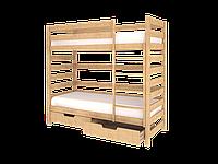 Детская подростковая двух ярусная кровать