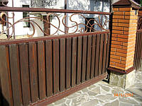 Ворота откатные кованые (MD-VKO-006)