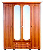 Шафа 4х дверний Ш-1615 Дженіфер БМФ / Шкаф 4х дверной Ш-1615 Дженнифер БМФ