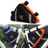 Велосипедная треугольная сумка на раму (велосумка подрамная)