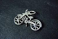 Вело-кулон (серебро 925 пробы)