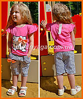 Летние костюмы для девочек   Розовый костюм для девочки Хелоо Китти