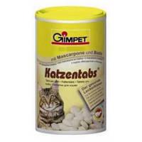 Витамины для котов и кошек Gimpet Katzentabs с маскарпоне и биотином, 710 таблеток