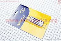 Ключ-набор брелок 4предметов (шестигранники 4,5,6мм, отвёртки фигурная) SBT-04FF