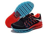 Мужские кроссовки Nike Air Max 2015 черно-красные