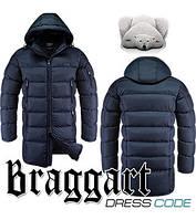 Зимняя длинная куртка мужская Braggart