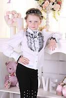 """Детская школьная блузка для девочки """"B3"""""""