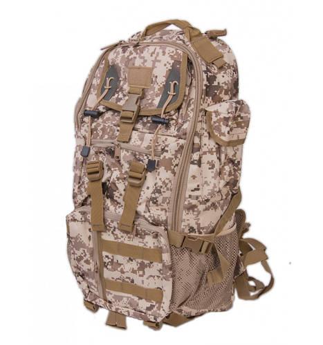 Многофункциональный туристический рюкзак 40 л. Innturt Middle A1020-1 camouflage бежевый