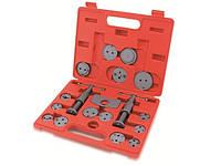 Комплект для обслуживания тормозных цилиндров 18 ед. (два винта) (JGAI1801) TOPTUL