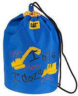 Сумка-котомка детская (для обуви) CAT 82102;48 синий