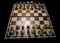"Набор 2 в 1: Шахматы+нарды ""Классика"", ясень"