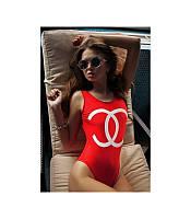 Женский купальник сдельный Chanel