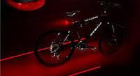 Задний фонарь для велосипеда с лазером (5-LED + 2-Laser