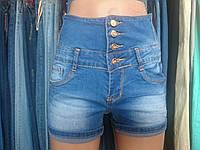 Шорты женские джинсовые корсет (высокая посадка)1