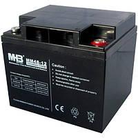 Аккумулятор AGM 45Ач 12В, Необслуживаемый герметичный, MM45-12