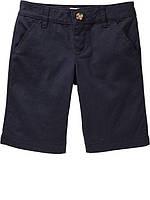Детские школьные синие шорты для девочки, на рост 155-159 см. (арт.3533)