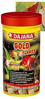 Корм для золотых рыбок Даяна голд (Dajana Gold), хлопья, банка 45гр